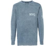 """Pullover mit """"NYC""""-Schriftzug"""