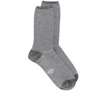 Socken im Glitter-Look