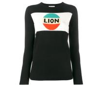 'Lion' Intarsien-Pullover