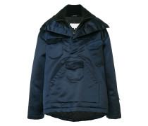 Oversized-Jacke aus Wolle