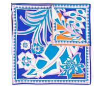 Schal mit Blatt-Print