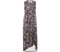 Shroom asymmetric printed dress