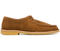 laced derby shoes