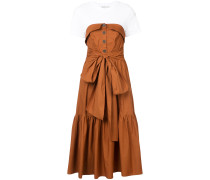 Beatrix combo midi dress