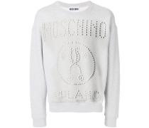 Sweatshirt mit Nieten