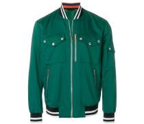 patch-pocket bomber jacket