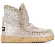 perforated Eskimo boots