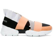 Slip-On-Sneakers mit Rüschendetail