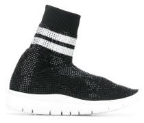Sock-Sneakers mit hohem Schaft