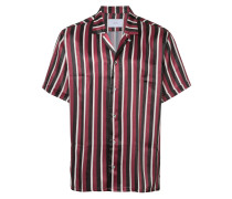 Gestreiftes Pyjama-Hemd