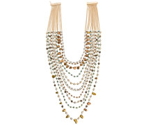 'Rumore' Halskette mit Perlen