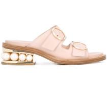 'Casati' Sandalen mit Perlen - 35mm
