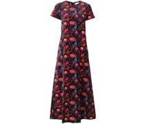'Velvet Pavone Nero' Kleid