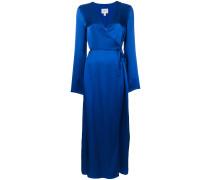 Celton maxi wrap dress