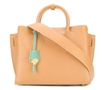 contrast tag tote
