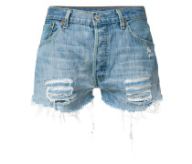 distressed hot pants