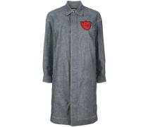 Hemdkleid mit Herz-Patch