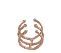 'Moments' Ring aus rotvergoldetem Sterlingsilber