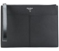 zipped clutch wallet
