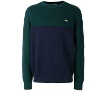 Pullover mit aufgesticktem Logo