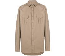 boxy chest pocket shirt