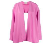 Oversized-Jacke im Cape-Design