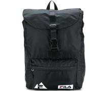 logo buckled backpack