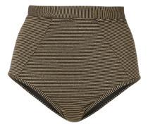 Nadia high-waisted bikini bottom