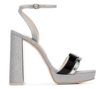 'Andie' Sandalen mit Glitter