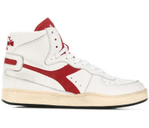 High-Top-Sneakers mit Logo