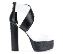 open-toe ankle sandals