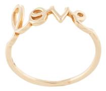 14kt 'Love' Gelbgoldring