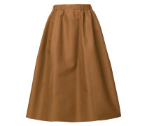 elasticated hem skirt
