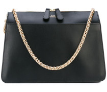 A.P.C. gold chain strap shoulder bag