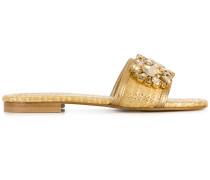 embellished open-toe sandals