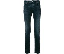 Super-Skinny-Jeans mit regulärer Länge