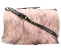 Clutch mit Faux Fur