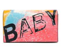 """Clutch mit """"Baby""""-Print"""