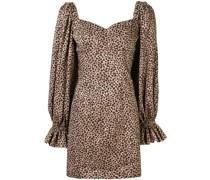 'Embers' Kleid mit Leopardenmuster
