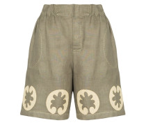 Bestickte 'Nairobi' Shorts