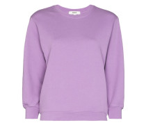 Thora cropped sleeve sweatshirt