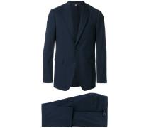 microcheck slim fit suit
