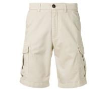 Schmale Cargo-Shorts