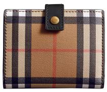 Kleine 'Vintage Check' Portemonnaie