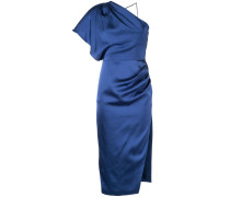 One-Shoulder-Kleid aus Satin