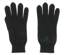 Handschuhe mit Kristall-Logo