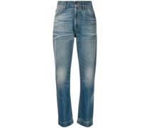 Jeans mit Mystic-Cat-Print