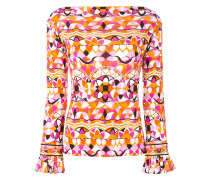 Bedruckte Bluse