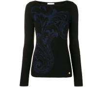 Pullover mit Barock-Print
