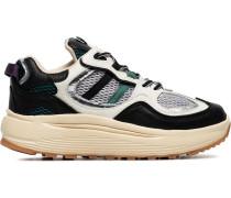 Turbo-Sneakers mit Netzeinsätzen